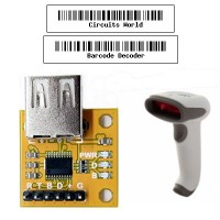USB Barcode Decoder - UART Output