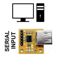 USB Keyboard Emulator - UART Input